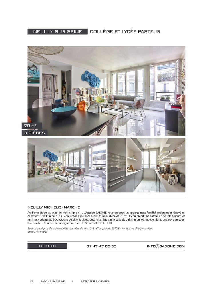 IMMOBILIER -- catalogues