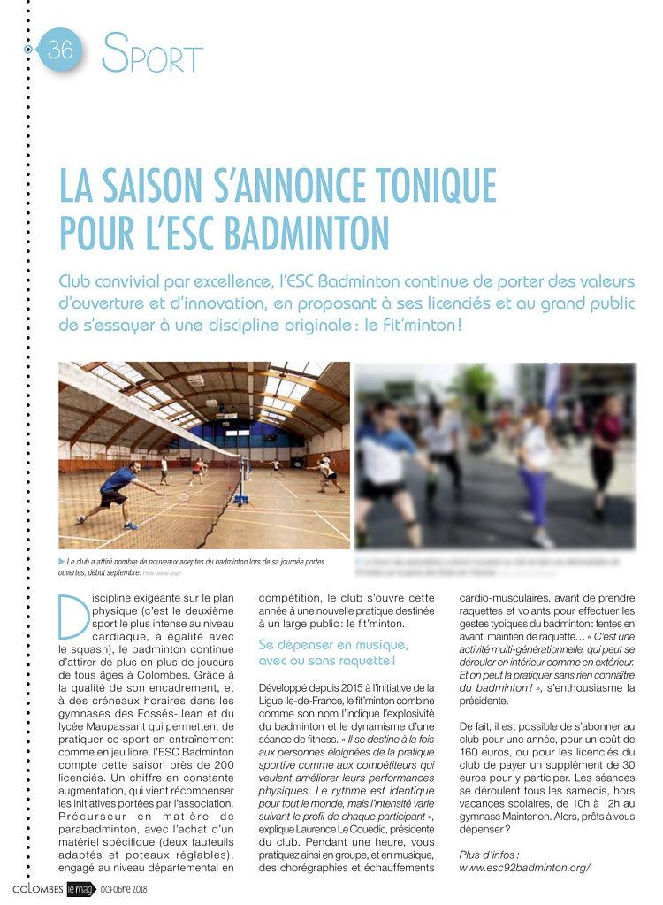 ESC Badminton
