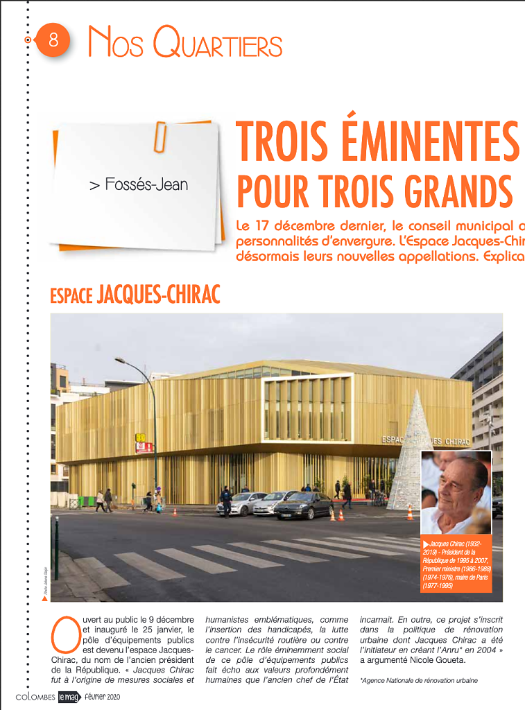 Espace Jacques Chirac